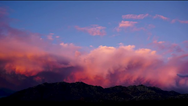 Time-Lapse: Evening Granite Mountain