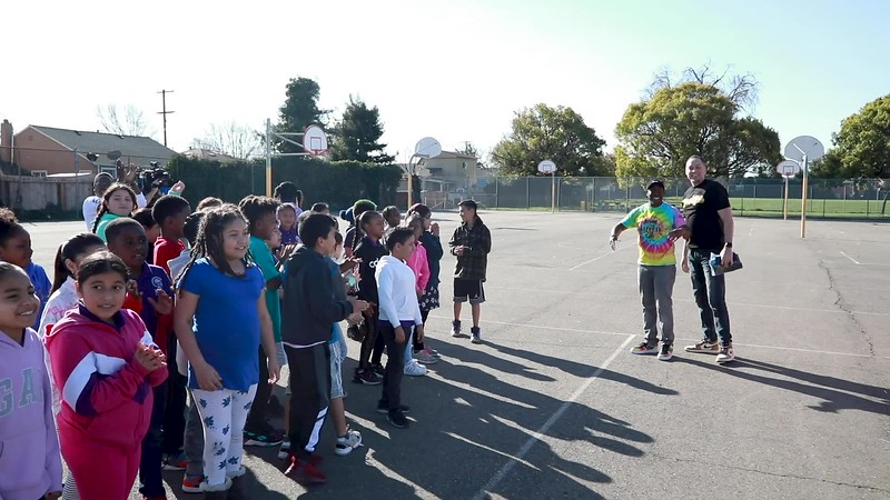 Cookies SF Donates Van to help Howard Cato continue charity work with Bay Area BMXers and children at Sobrante Park Elementary School in East Oakland Ca.