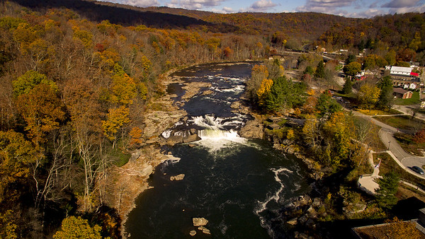 Ohiopyle State Park in the fall.