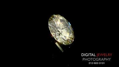 Yellow Diamond Round