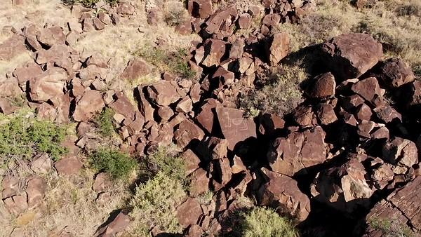 Aerial Capture: Sullivans Canyon Petroglyph