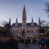 Christmas market at Rathausplatz