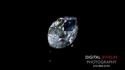 White Marquise Diamond