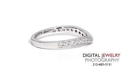 Diamond Eternity Band Melee on White 02_1