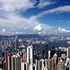 "This is a time lapse that I made from ""The Point"" in Hong Kong on August 7,2011. <br /> <br /> ""The Sky View Terrace 428"", stands at 428 meters above sea level, <br /> (Approximately 1400 ft) is the highest viewing platform in Hong Kong <br /> offering a stunning 360-degree panoramic view across Hong Kong,Victoria Harbor and Kowloon. <br /> <br /> I recorded 566 still images taken at  2 seconds apart <br /> with a Canon 5D MKII 28-135 lens mounted on a tripod with a time controller.<br /> <br /> © Copyright Jerry Gilligan 2011 All Rights Reserved"