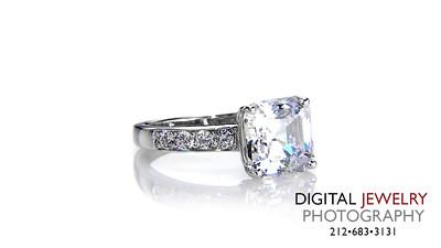 Ascher Cut Diamond Ring Melee Ring on white 02_1