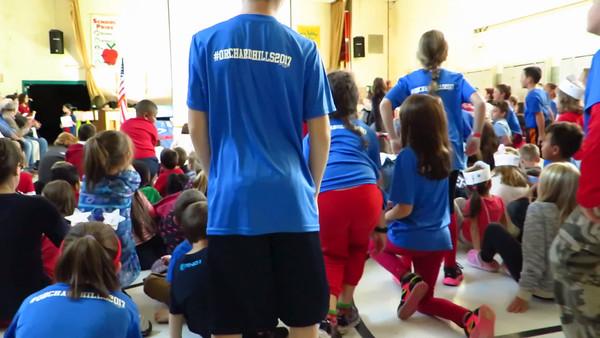 God Bless America ~ Orchard Hills School ~ David purcell video ~ 11 NOV 2016