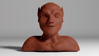 Elf Sculpture Animation