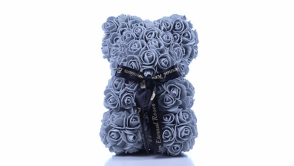 "Premium Eternal 10"" Rose Bear"