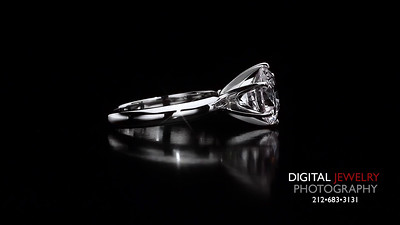 Round Diamond Soliarire Diamond Ring 03