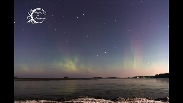 Northern Lights in Central Minnesota