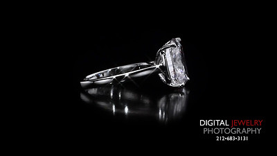 Cushion Cut Diamond Solitaire Ring 06