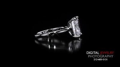 Cushion Cut Diamond Solitaire Ring 06