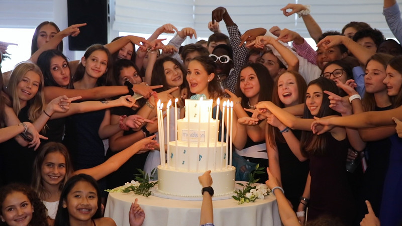 Madison's Bat Mitzvah highlights