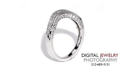 Diamond Eternity Band Melee on White 03_1
