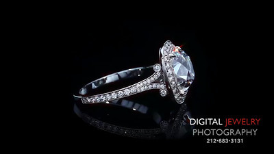 3 02ct Cushion Halo Ring doubleDJP Logo