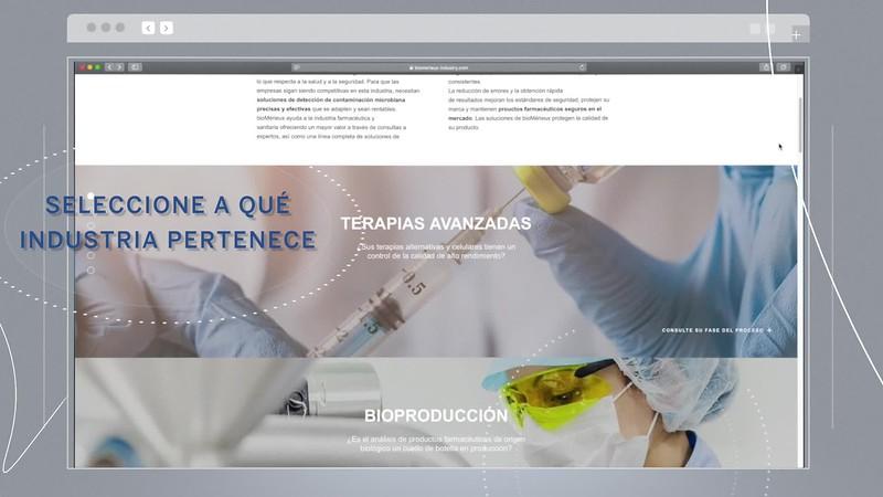 PRESENTACIÓN WEB BIOMERIEUX