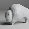 Bison Sculpture 360°