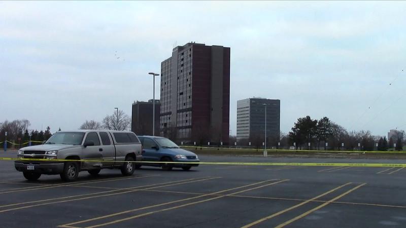 North Park Plaza demolition in Southfield