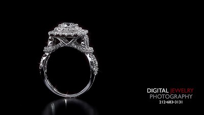 Round Diamond Halo Engament Ring Flyover 07