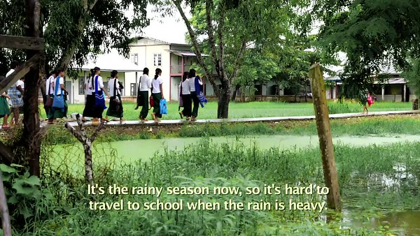 ERICSSON Connecting Myanmar, Education