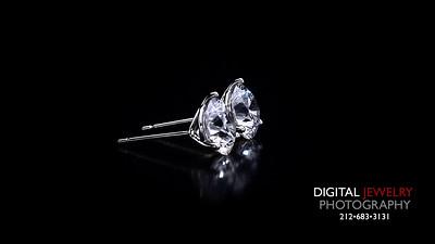 Martini Set Diamond Stud Earrings 004