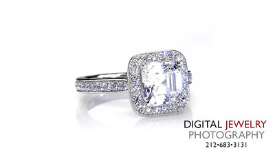 Ascher Cut Halo Diamond Ring Melee 03_1