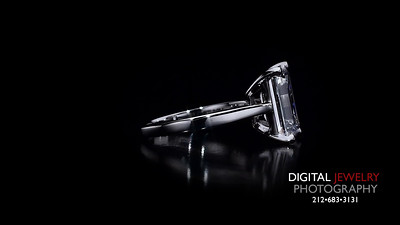 Emerald Cut Diamond Soliatire Ring