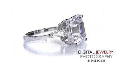 Ascher Cut 3 Stone Baguette Ring on White 02_1