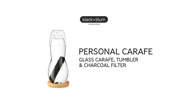 Personal Carafe Black Blum