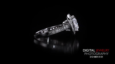 Cushion Cut Halo Diamond Ring 03