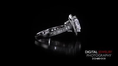 Cushion Cut Halo Diamond Ring 03