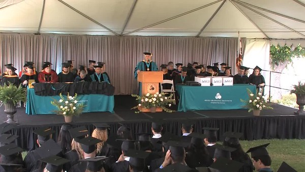 Keck Graduate University Commencement