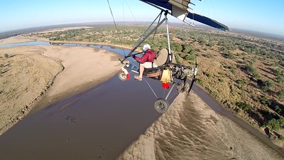 Ele's from Heaven. Luangwa River, SLNP_ Zambia