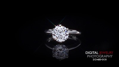 Round Diamond 6 Prong Solitaire Ring