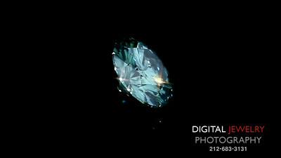 Green Diamond Round
