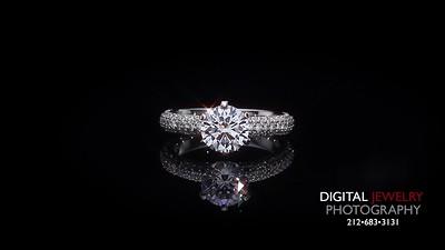 Round Diamond Pave Ring 02