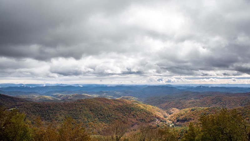 Blue Ridge Mountains 2018 Autumn Time-lapse