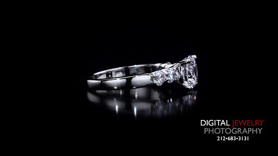 Round Diamond 5 Stone Diamond Ring
