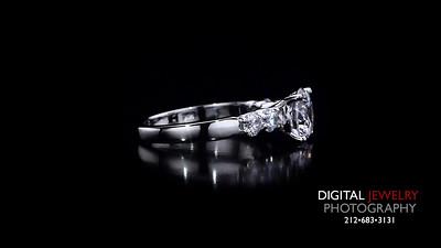 Round Diamond 5 Stone Diamond Ring