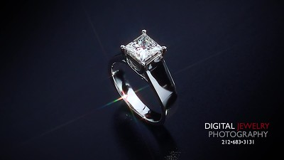 1 50ct Princess Diamond Solitaire Ring 006