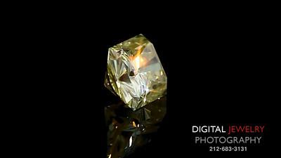 Yelllow Radiant Diamond