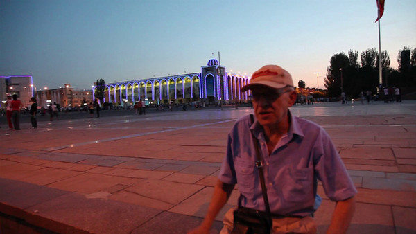 Ala-Too square fountain show, Bishkek, Kyrgyzstan  Intro dialog: -We are on the Ala-Too square. -What's going on here? -A colorful fountain show! Just in a few minutes you will see a fabulous air-water spectacle. -How does it t compare to Bellagio [Las Vegas] and Barcelona [Montjuic]? -A slightly smaller in scale :)  Music: Andre Rieu - Shostakovich' Second Waltz