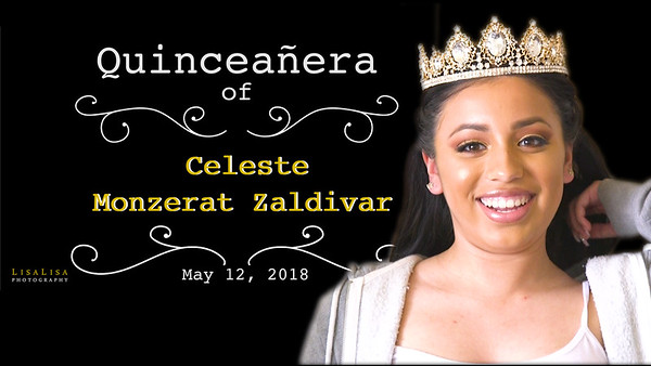 Quinceanera Highlight Video - Celeste