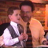 Elisha, 4 years old, reciting the 4 Questions (Cleveland 2001).