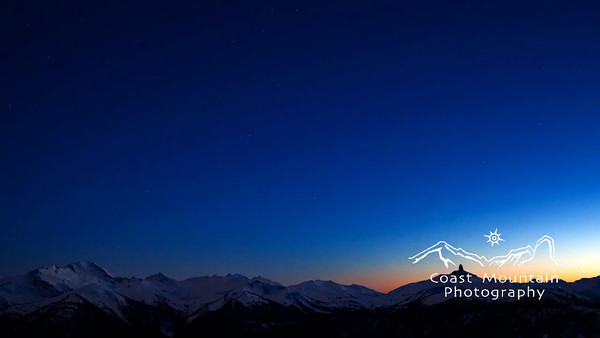 Stars moving over the Black Tusk and Garribaldi Provincial Park. This timelapse was shot from Whistler mountain Stock video footage by Mitch Winton - coastphoto.com