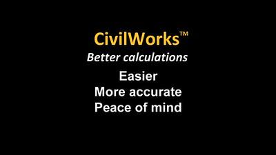 CivilWorks phone app