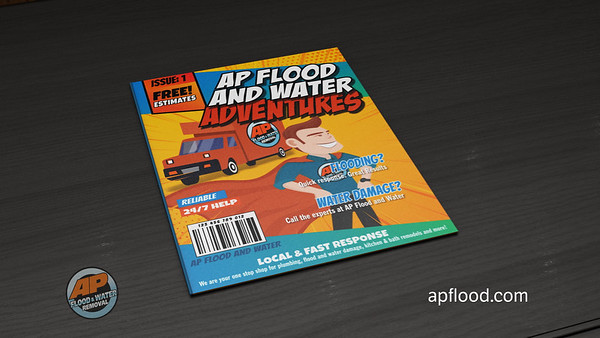 AP Plumbing: AP Flood and Water Services Provided:  Motion Graphics, Editing