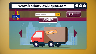 Marketview Liquor: Website Promo Services Provided:  Motion Graphics, Editing