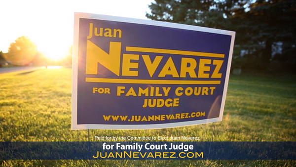 Juan Nevarez Political Campaign Services Provided: Shooting & Editing